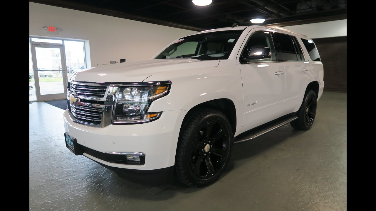 2015 chevrolet tahoe ltz for sale in canton ohio jeff 39 s motorcars youtube. Black Bedroom Furniture Sets. Home Design Ideas