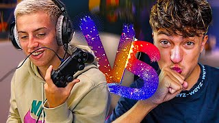 1VS1 BUILDFIGHT CONTRE INOXTAG À LA MANETTE SUR FORTNITE ! 🎮 (on est trop nul)