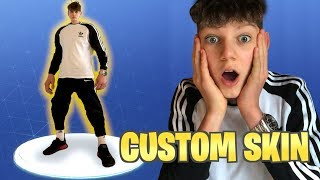 MY OWN FORTNITE SKIN!😱| and how to make one | EinMatteo