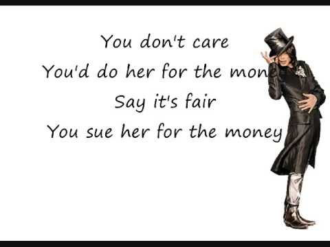Michael Jackson Money Lyrics