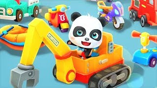 Baby Panda Solve Puzzle Game & Save The Town | Fun Educational Games For Kids