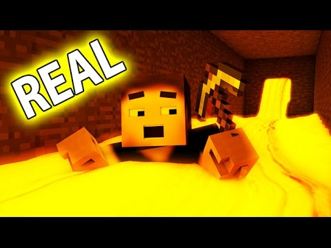 Minecraft vs Real Life - If Minecraft was REALISTIC (Minecraft Animation)