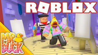 THE ARTIST WANTS TO TURN ME INTO A PAINTING!! - Roblox Escape the Art Store Obby