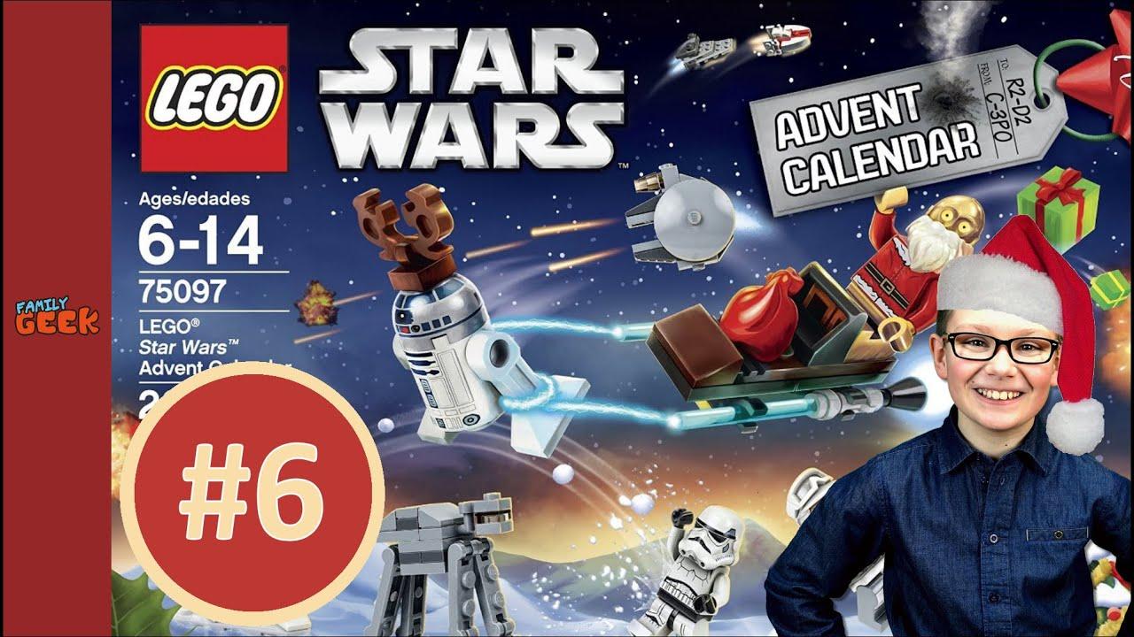 2015 lego star wars calendrier de lavent jour 6 question du jour youtube