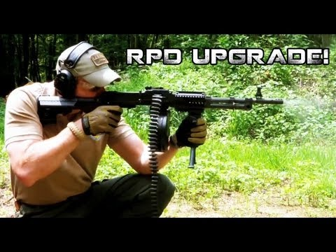 Modernized RPD Machine Gun by DS Arms | Down Range With Funker Tactical