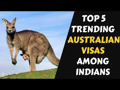 Top 5 Trending Australian Visas || Life In Australia