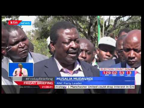 Wiper Party Kalonzo Musyoka Has Dismissed Claims That He Is Flirting With Jubilee