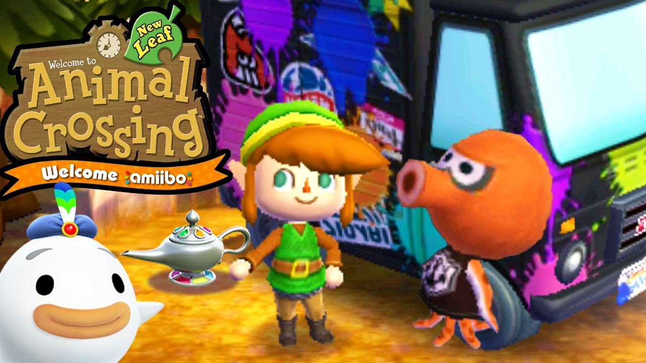 Animal Crossing New Leaf Welcome Amiibo Update