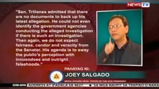 SONA: Trillanes: VP Binay, nakinabang din sa mga housing project ng gobyerno