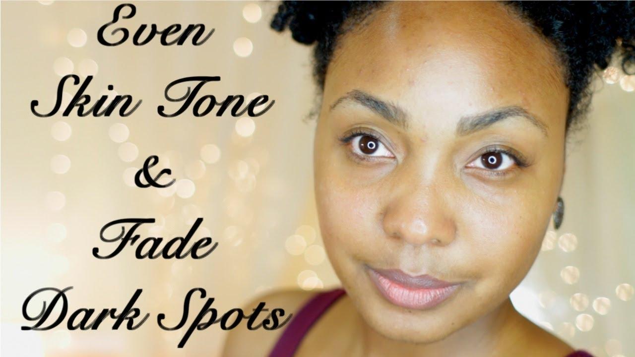 even skin tone for dark skin