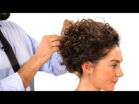 Curly Hair Updos | Salon Hair Tutorial
