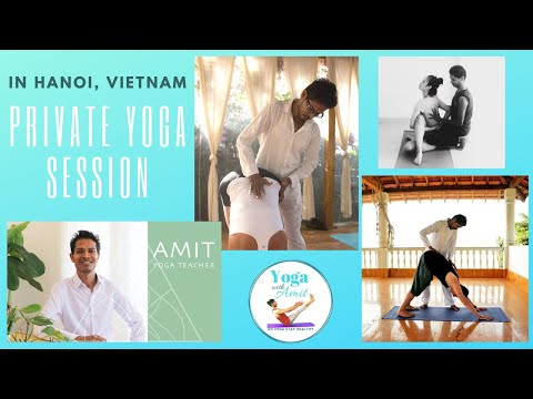 Yoga Course & Classes - Yoga with Amit