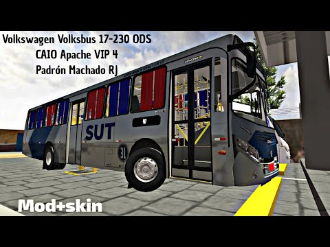 PBSR|SUT V2 (Volkswagen Volksbus 17-230 ODS CAIO Apache VIP 4 Padrón Machado RJ Fase 2) from YouTube · Duration:  14 minutes 55 seconds