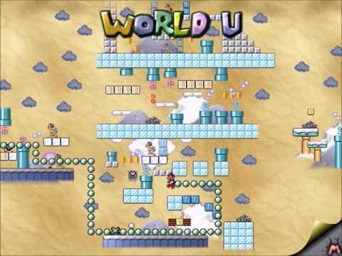 Mario Worker - Letter Worlds Series (World U by MV3410) [HD]