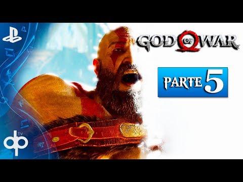 GOD OF WAR 4 Parte 5 Gameplay Español PS4 PRO | La Luz de ALFHEIM  (God of War 2018)