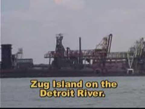 Steel Mill Zug Island. - TV17.org.