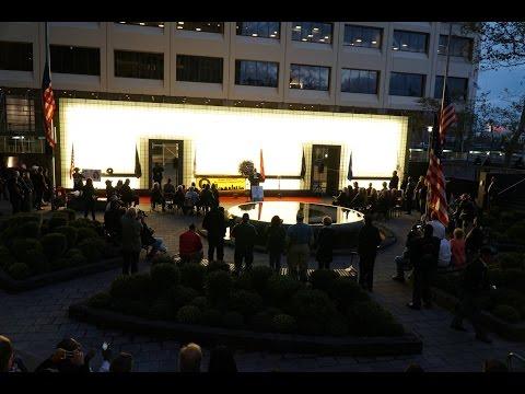 NYC Vietnam Veterans Memorial Relighting Ceremony