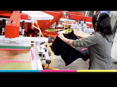 First Prints And First Impression - Anatol Titan M Automatic Screen Printing Press