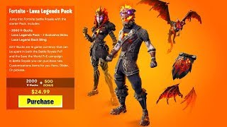 "How To Get ""LAVA LEGENDS PACK"" in Fortnite! NEW LAVA LEGENDS PACK LEAKED! (Lava Legends Pack)"
