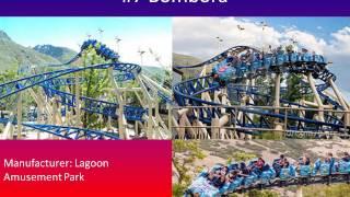 Top 10 coasters at Lagoon park
