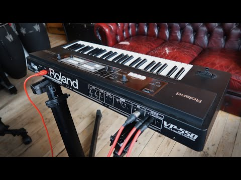 Roland VP-550 Vocoder: Unboxing & Fun