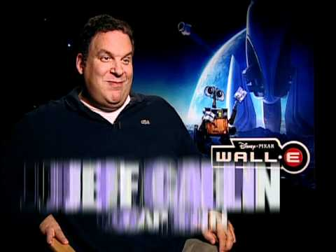 WALL-E - Interviews with Jeff Garlin and Fred Willard and John Ratzenberger