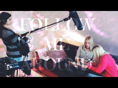 FOLLOW ME AROUND #7 - Tv Dreh ( mit Bibi ) | Dagi Bee