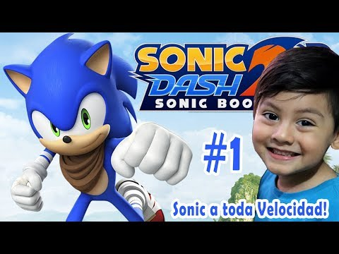 Sonic Dash 2: Sonic Boom Gameplay | Buscando al BOSS Dr Eggman |  Juegos Infantiles para niños