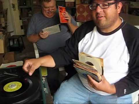 Record Collectors in Steve's Garage