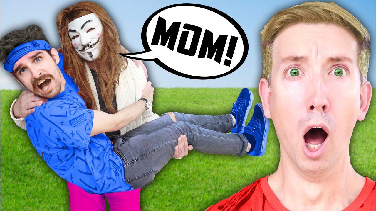 DANIEL'S MOM IS A HACKER! (Face Reveal) Daniel is Angry & Must Beat Funny Games and Challenges