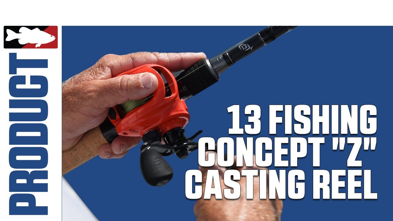 13 fishing concept z casting reel product video youtube for 13 fishing concept a