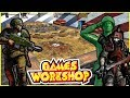 Epic Warhammer 40k charge ! - Army men of War - CHAOS vs IMPERIUM
