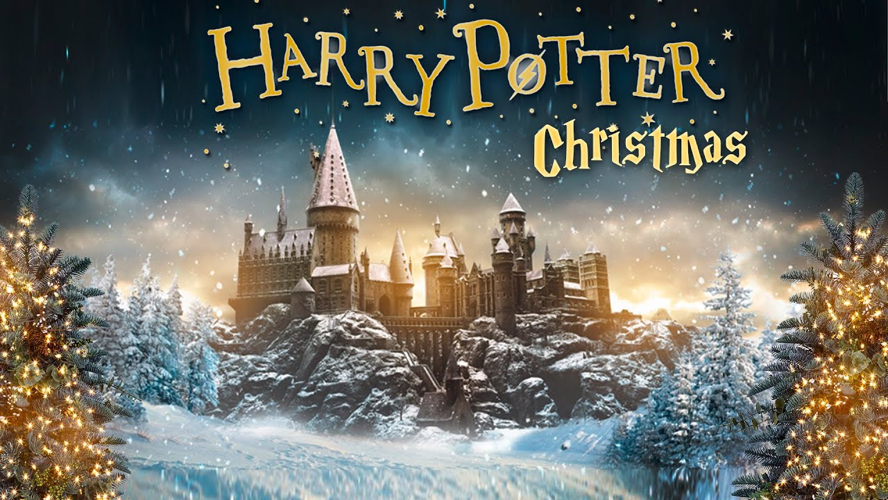 8 Hours Harry Potter Christmas 🎄 ASMR Ambience ⋄ Hogwarts ...