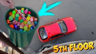 DROPPING 500 BOUNCY BALLS ON MY CAR!