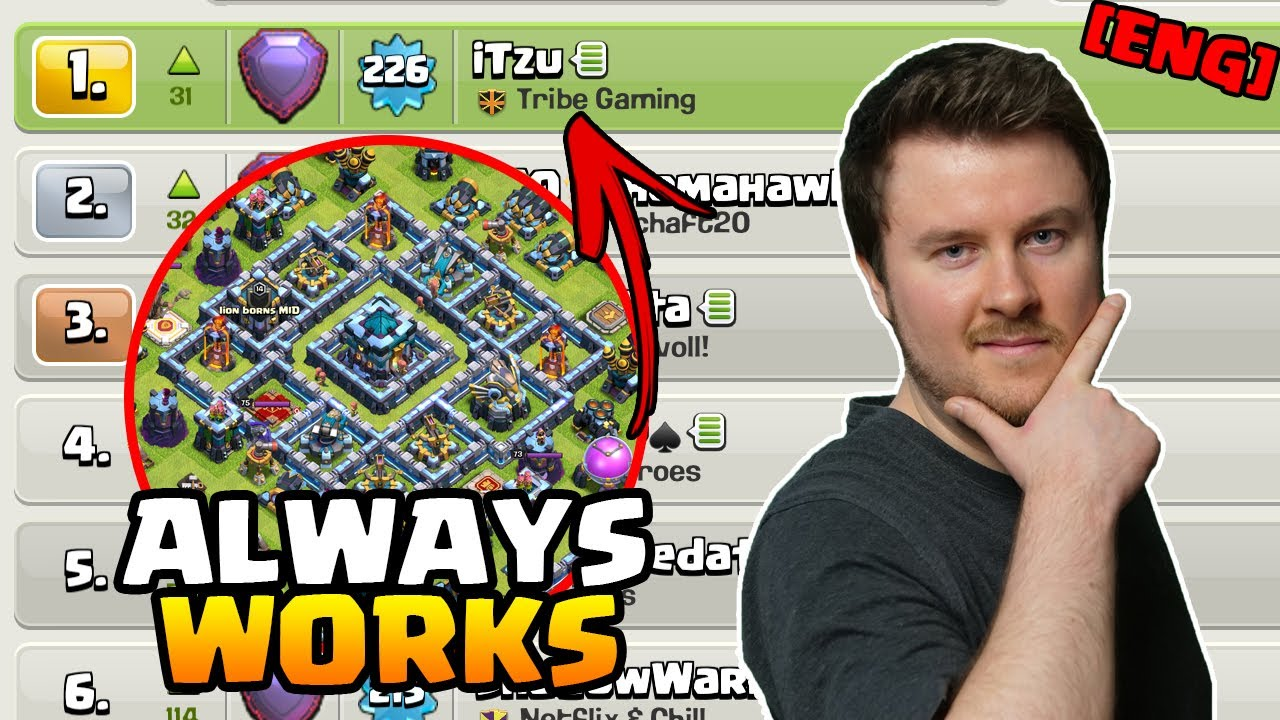 Back to Rank 1 | This ALWAYS WORKS even vs Ring Bases | #clashofclans [ENG]