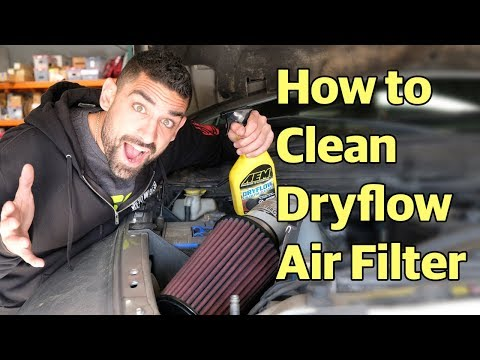 How To Clean Dryflow Air Filters
