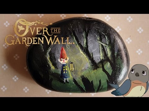 Painting Over The Garden Wall Rocks