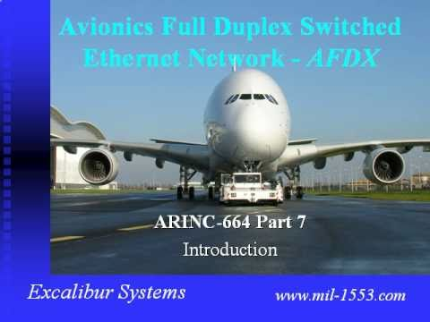 AFDX Tutorial   Excalibur systems
