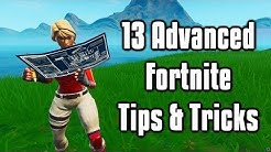 13 Advanced Fortnite Tips & Tricks - Building, Editing, and Game Sense Pro Tips!