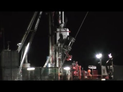 🙏 RUSTY RIG Day & Night Video 🙏 #PNR Cuadrilla FRACKING #WeSaidNo #FrackOff 👽