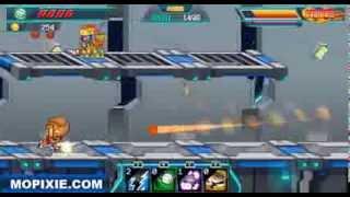 Unstoppable Slam - Cartoon Games - Mopixie.com