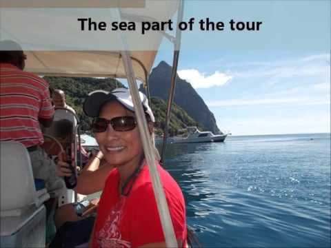 St Lucia Land and Sea Tour