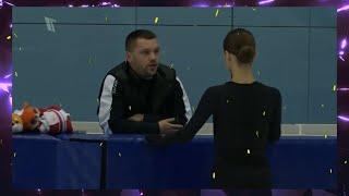 Новые программы на предолимпийский сезон Контрольные прокаты Юниоры Девушки Фигурное катание