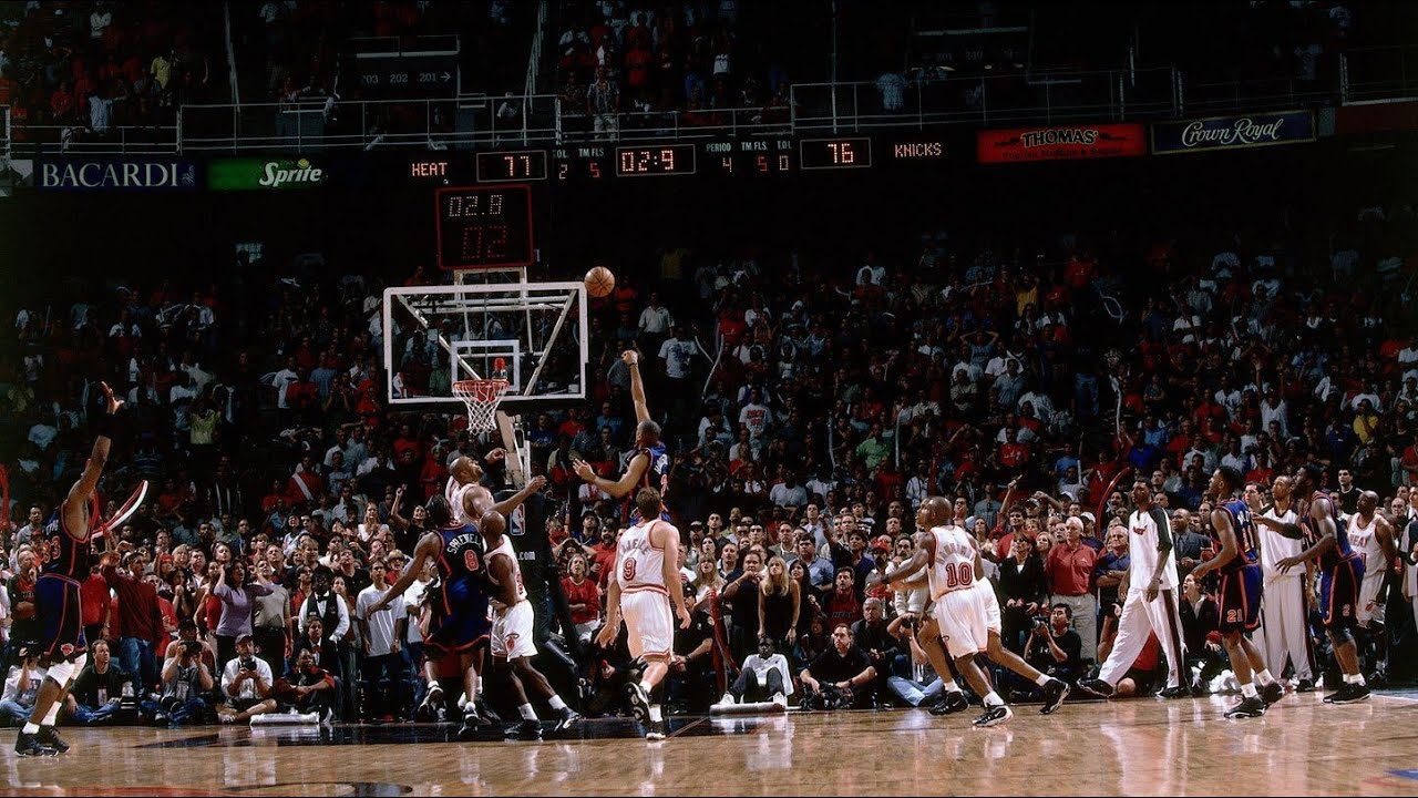 1999 NBA Playoffs ECR1 Game 5 - Knicks vs Heat - Final minute - YouTube