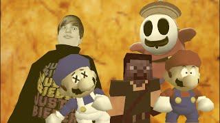 super Minecraft 64 bloopers: Legend of steve