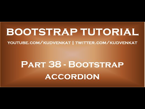 Bootstrap Accordion Table