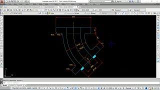 Luyện kỹ năng vẽ AutoCAD 2D Cơ khí - Bài Tập 48