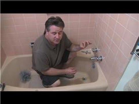 Bathroom FixIt Tips  How to Repair a Leaking Bathtub