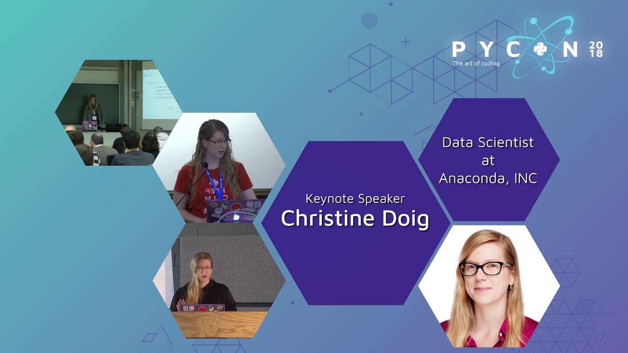 Image from Christine Doig Cardet - PyCon Colombia 2018