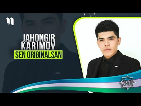 Jahongir Karimov - Sen Originalsan